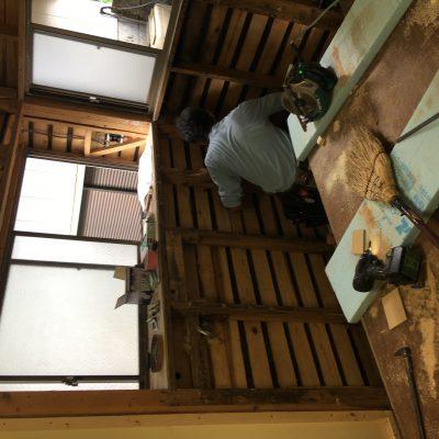 キッチンリフォームしています。宇都宮市新里のK様邸