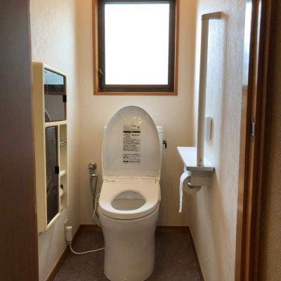 トイレ 住宅改修工事
