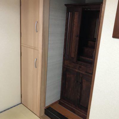 押入の活用:仏壇置きスペースを設置