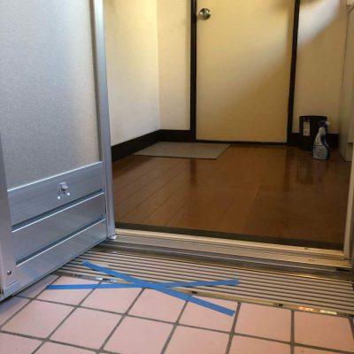 お風呂のリフォーム・・・タイルの浴室がバリアフリーに変わりました。