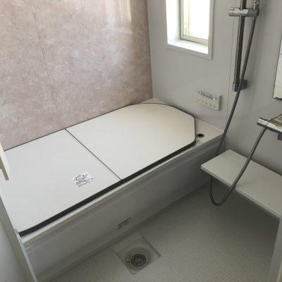 2階のお風呂の段差もリフォームでしっかりバリアフリーに解消できます