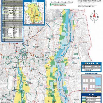 宇都宮市の洪水ハザードマップをご覧ください