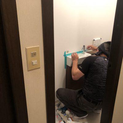 1日でシステムトイレにリノベーション