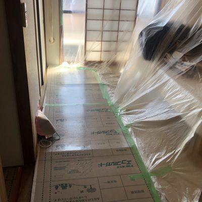 本日から宇都宮市内のマンションでリフォーム工事が始まります。