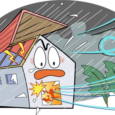 台風から大切な家を守るために今から準備しておきたいこと