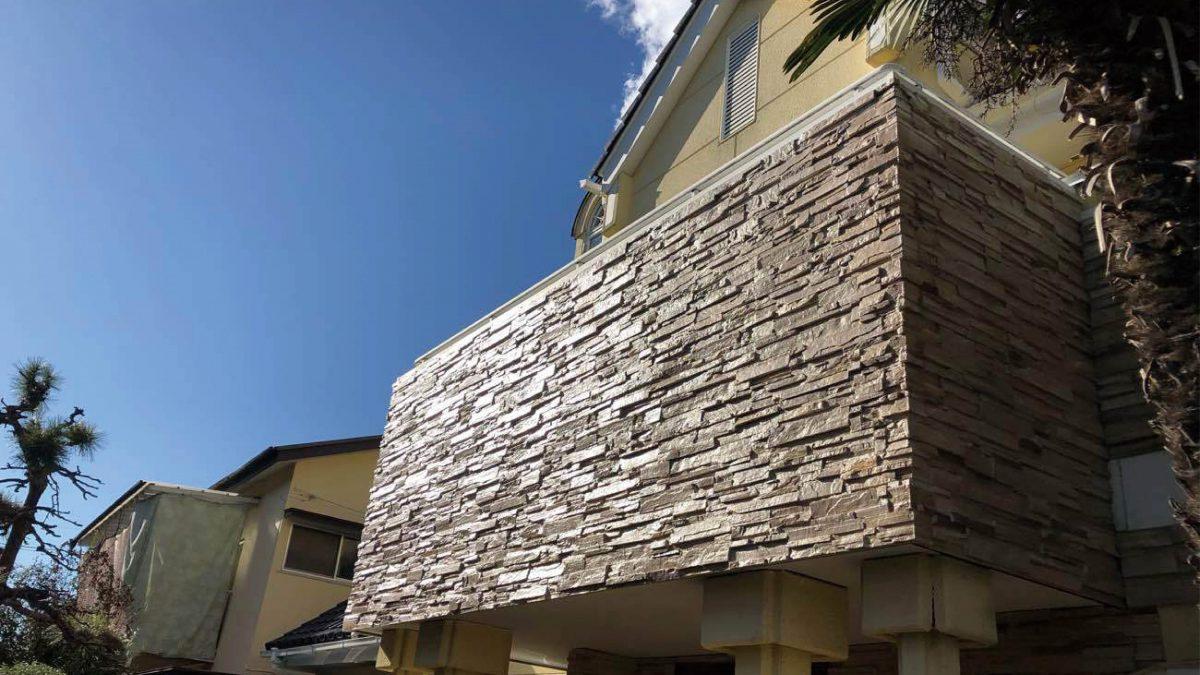 住まいる工務店「お客さまの声」:雨漏れによる、軒天及び中の柱の腐れ 外壁防水リフォーム