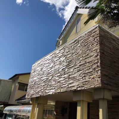 宇都宮市のリフォーム、リノベーション専門店|住まいる工務店:お客様の声「雨漏れによる、軒天及び中の柱の腐れ 外壁防水リフォーム」