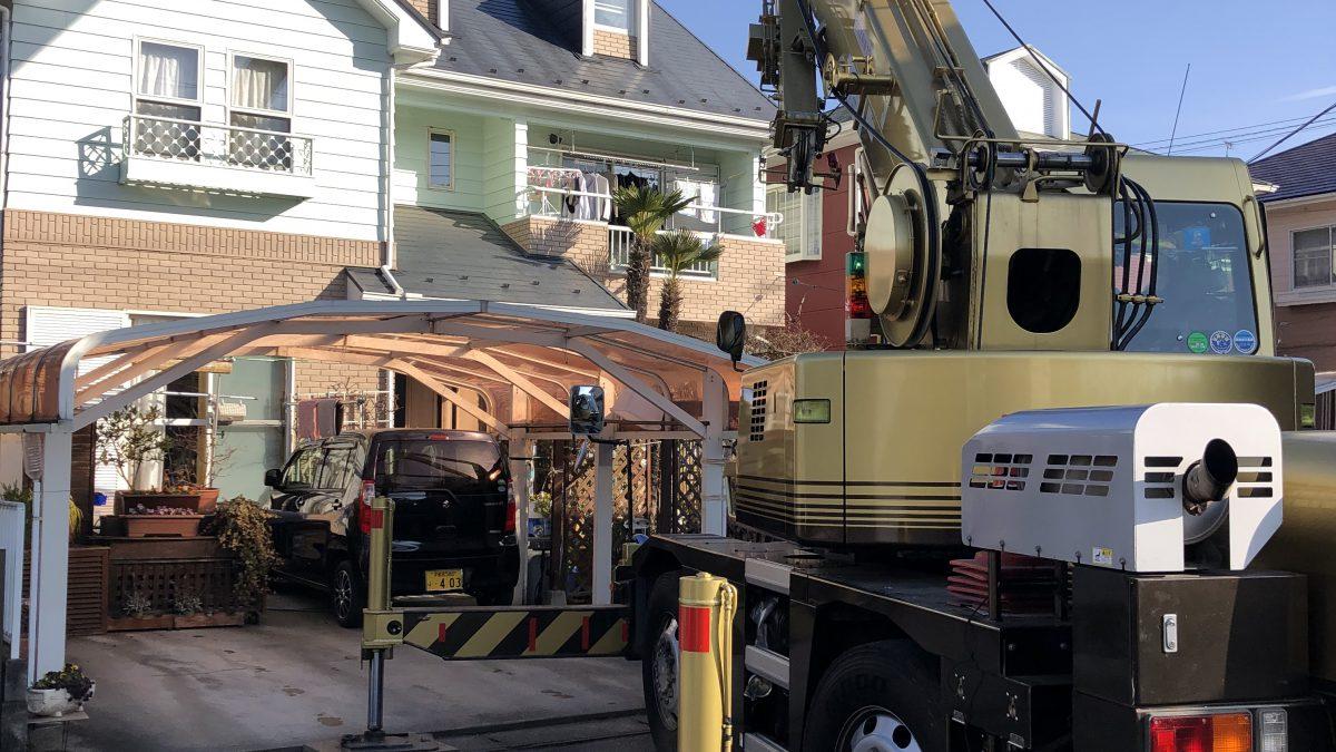 住まいる工務店「お客さまの声」:屋根の棟板金の取り換え工事