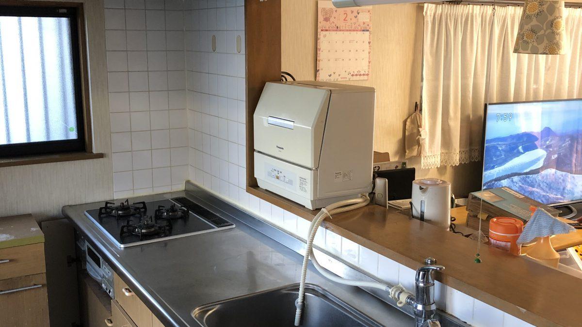 住まいる工務店「お客さまの声」:収納がたくさんあるキッチンができあがりました。