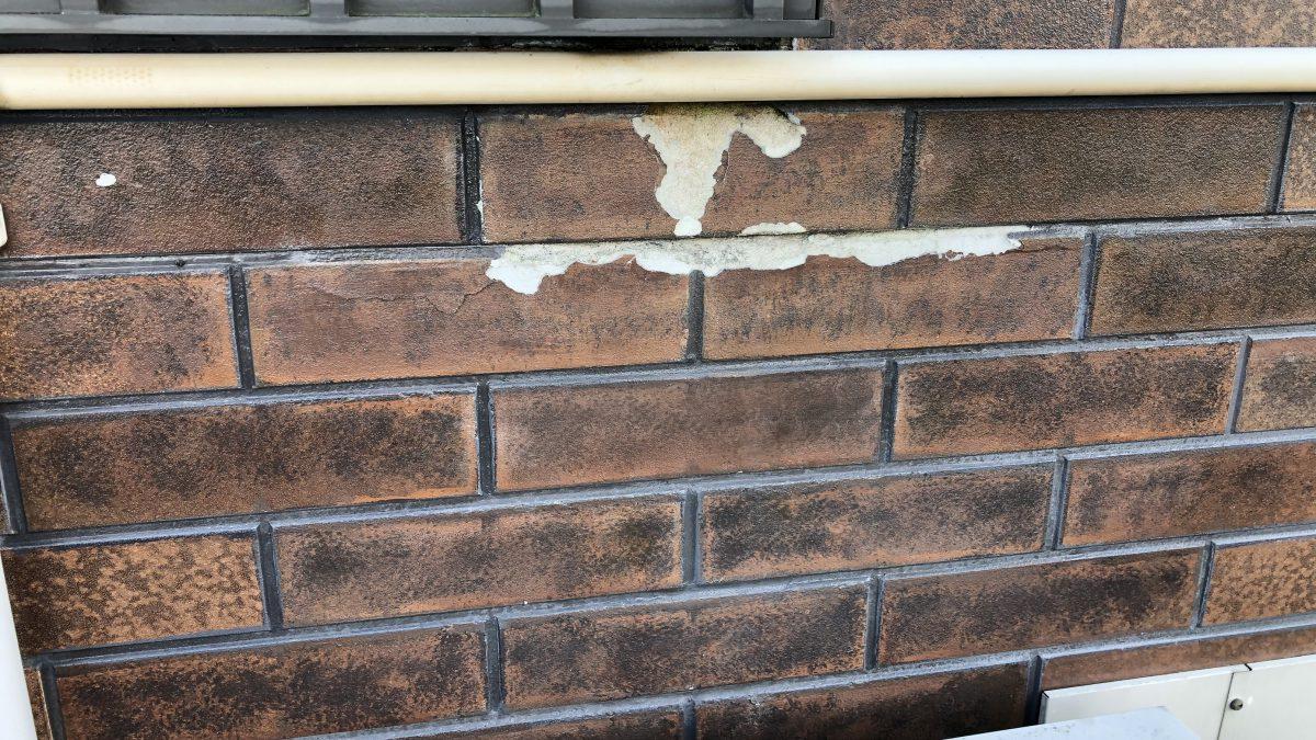 住まいる工務店「お客さまの声」:外壁柄を損なわずクリア塗装のしっとりと仕上げました。