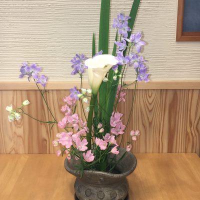 カルチャー教室「友悠倶楽部」:華道教室